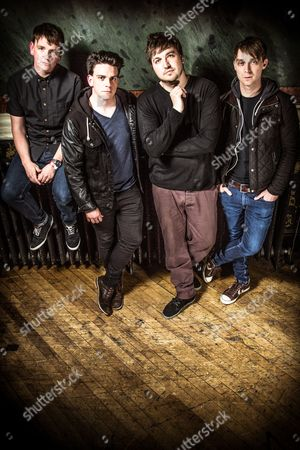 The Dunwells - David Dunwell, Joseph Dunwell, Jonny Lamb and Rob Clayton.