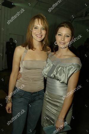 Erica Leerhsen and Jessica Biel