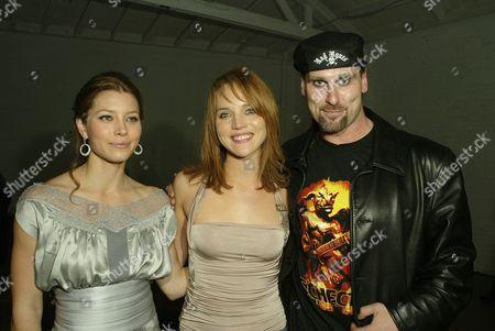 Erica Leerhsen, Jessica Biel & Andrew Bryniarski