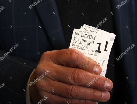 The Interview the controversal movie with Seth Rogan and James Franco that North Korea wanted to keep out of the theatres...opens today Christmas Day in NY at Manhattans Cinema Village