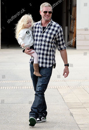 Eric Dane and daughter Georgia Dane