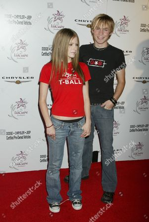 Avril Lavigne and Evan Taubenfeld