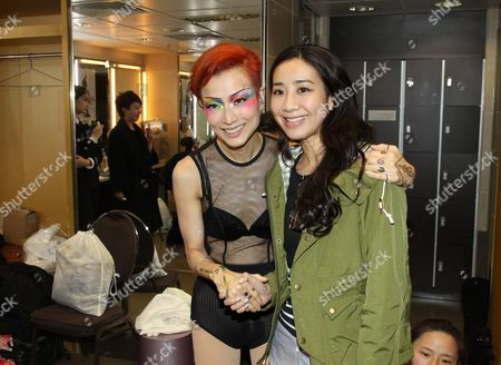 Editorial photo of Sammi Cheng on her 'Touch Mi' world tour in Hong Kong, China - 28 Dec 2014