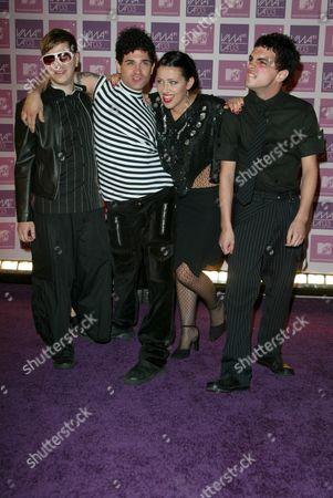 Editorial picture of MTV VIDEO MUSIC AWARDS, LATINO AMERICA, FLORIDA, AMERICA - 23 OCT 2003