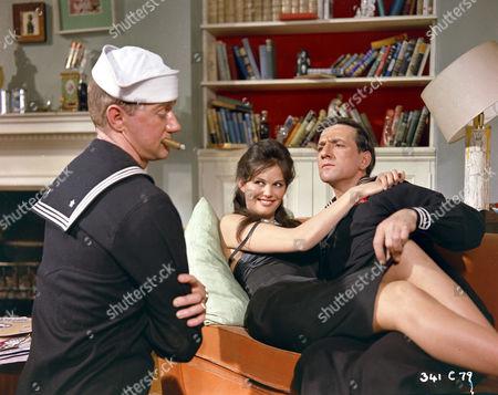 Stock Photo of Bill Edwards, Claudia Cardinale and Gaylord Cavallaro