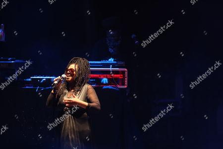 Soul II Soul - (left to right) Caron Wheeler and Trevor Beresford Romeo (AKA - Jazzie B)