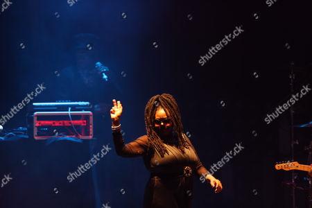Soul II Soul - (left to right) Trevor Beresford Romeo (AKA - Jazzie B) and Caron Wheeler