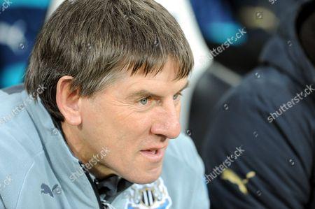Newcastle United coach Peter Beardsley
