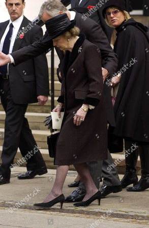 MARGARET THATCHER AND SON MARK