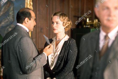 THE INCREDIBLE THEFT - DAVID SUCHET AND CIARAN MADDEN - 1989