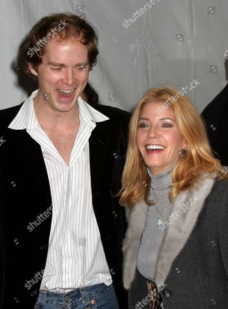 Stock Photo of Candace Bushnell with husband Charles Askegard
