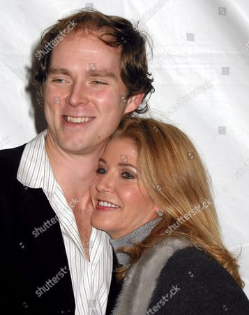 Candace Bushnell with husband Charles Askegard