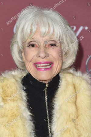 Stock Photo of Carol Channing