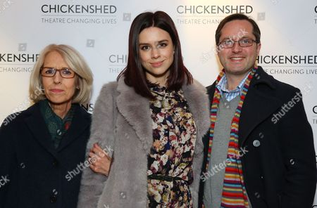 Stock Picture of Linda Banwell, Rosa Hoskins-Holt and Peter Hoskins-Holt