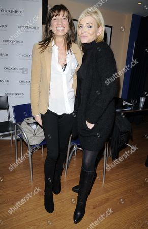 Stacey Young and Michelle Collins