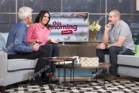 Phillip Schofield and Christine Bleakley with Ryan Moloney