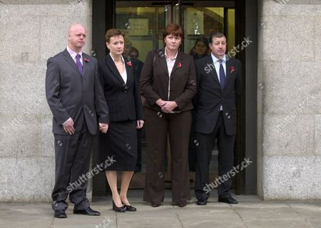 (L TO R) KEVIN AND NICOLA WELLS AND SHARON AND LESLIE CHAPMAN