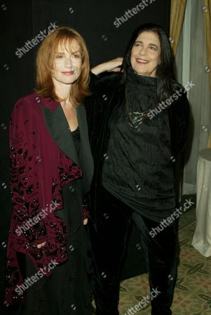 Isabelle Huppert and Susan Sontag