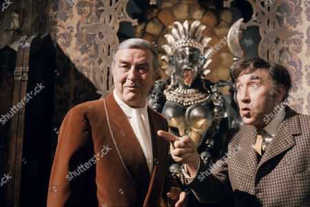 Ray Milland and Frankie Howerd
