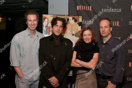 Writer Michael Blieden, Michael Penn, Annabelle Gurwitch and director Bob Odenkirk