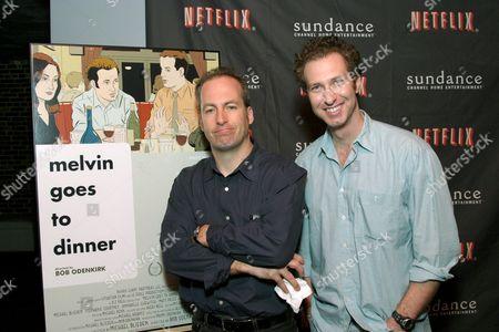 Bob Odenkirk and Michael Blieden