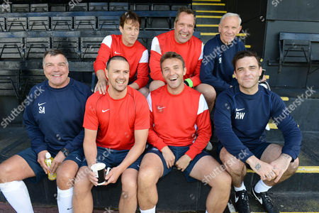 Editorial picture of Soccer Aid for UNICEF, Motspur Park, London, Britain - Jun 2014