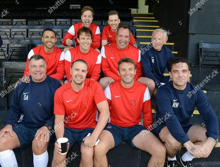 Editorial image of Soccer Aid for UNICEF, Motspur Park, London, Britain - Jun 2014