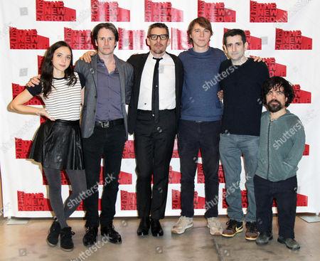 Stock Photo of Zoe Kazan, Josh Hamilton, Ethan Hawke, Paul Dano, Jonathan Marc Sherman