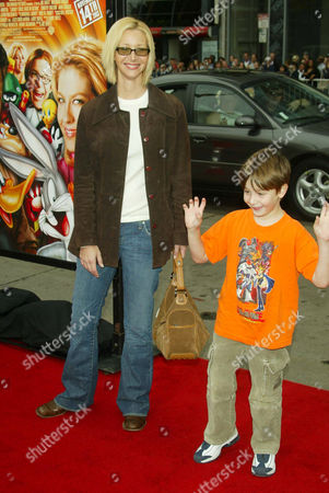 LISA KUDROW AND SON JULIAN STERN