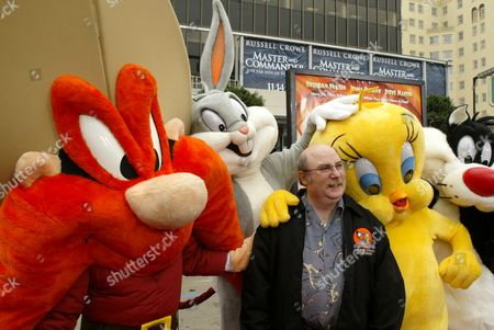 Stock Photo of Yosemite Sam, Eric Goldberg, Tweety Pie and Sylvester