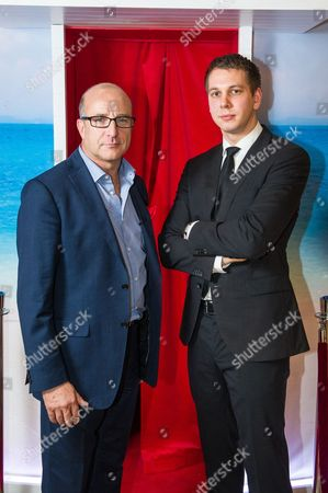 Stock Image of Simon Chandler 26, from Dartford before he is hypnotised with Paul McKenna