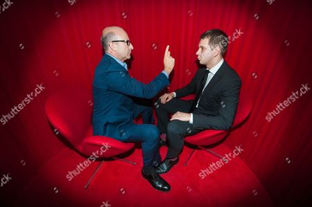 Stock Picture of Simon Chandler 26, from Dartford being hypnotised by Paul McKenna