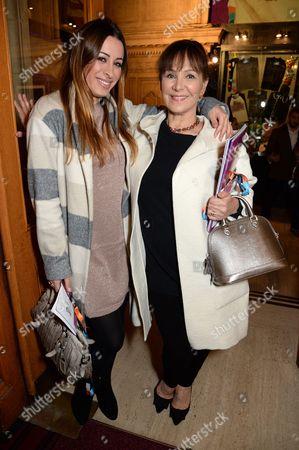Arlene Phillips and Alana Phillips