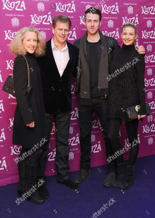 Stock Image of Sophia Castle, Andrew Castle and guests