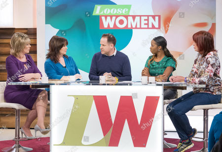 Ruth Langsford, Coleen Nolan, Henry Dimbleby, Jamelia and Janet Street-Porter