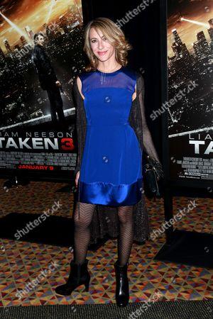 Editorial photo of 'Taken 3' film premiere, New York, America - 07 Jan 2015