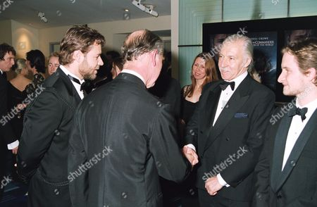 PRINCE CHARLES, RUSSELL CROWE AND GEORGE INNES