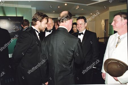 PRINCE CHARLES, RUSSELL CROWE AND IAN MERCER