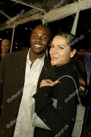 Derek Luke and Sophia Adella Hernandez