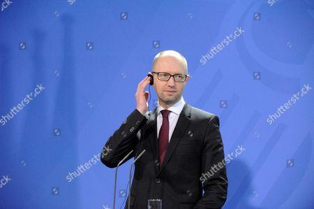 Ukrainian Prime Minister Arsenij Jaceniuk