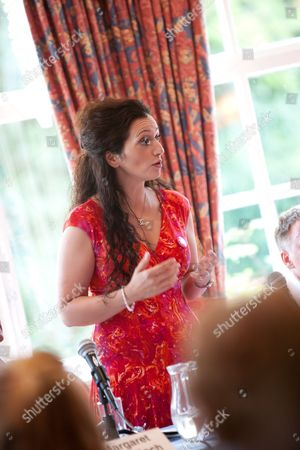 Tasmina Ahmed Sheikh, Lawyers for Independence, SNP National Womens and Equalitys Officer, speaks at the public debate