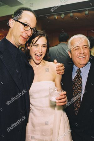 Martin Brest, Claire Forlani and Ronald L. Schwary