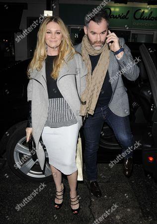 Nicola Stapleton and guest