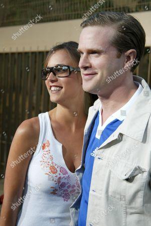 Lisa Marie Kurbikoff and fiance Cary Elwes