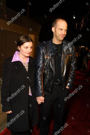 Anthony Edwards and wife Jeanine Lobell