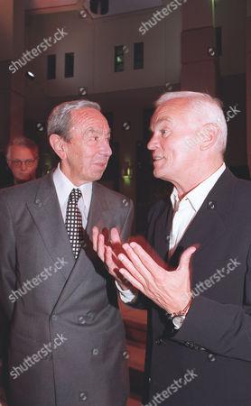Hugo Boss Designer and Deputy Chairman Werner Baldessarini and former White House Chief of Staff Warren Christopher