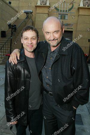 Stock Image of Doug Hutchinson and Frank Darabont