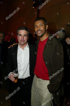 Writer Tony Gayton and producer Eriq LaSalle