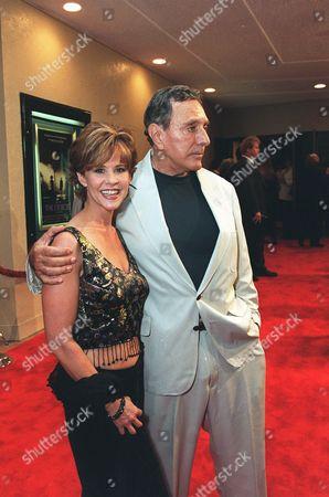 Linda Blair and writer William Peter Blatty
