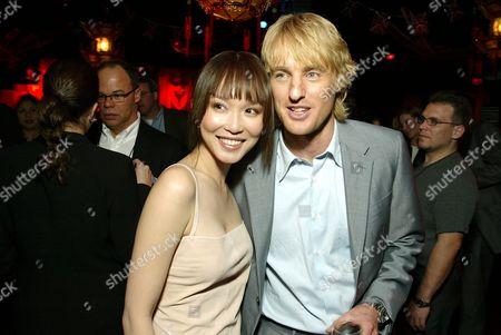 Fann Wong & Owen Wilson